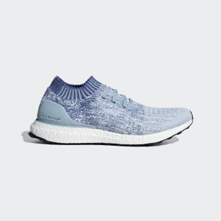 UltraBOOST Uncaged Schuh Ash Grey / Active Blue / Shock Red B37693