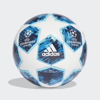Mini balón (FOAM CORE) Finale 18 WHITE/BLUE GLOW/SHOCK BLUE/NIGHT INDIGO CW4131