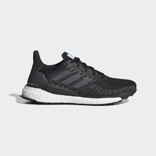 Кроссовки для бега SolarBoost 19 core black / grey five / glow blue EF1416