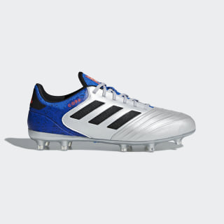 Copa 18.2 Firm Ground Boots Silver Met. / Core Black / Football Blue DB2443