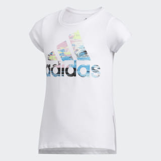 VENTED SIDESEAM TEE White CL0812