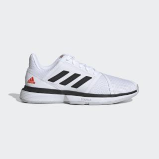 Кроссовки для тенниса CourtJam Bounce ftwr white / core black / lgh solid grey EE4320