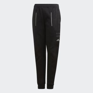 Spacer Pants Black / Shock Yellow FL2830