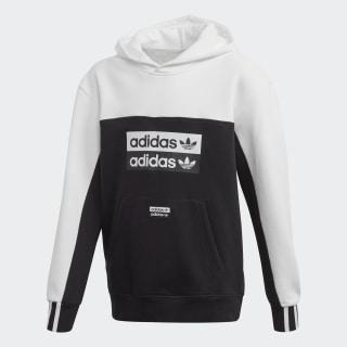 Sweat-shirt à capuche Black / White FM6627