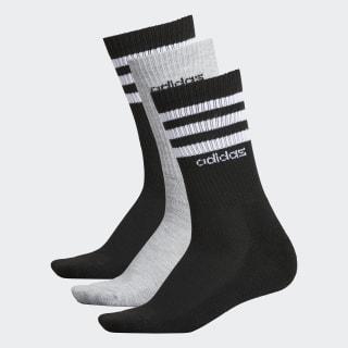 3-Stripes Crew Socks 3 Pairs Multicolor CK0662