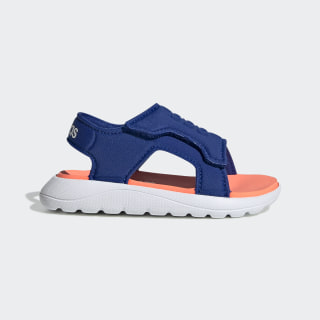 Сандалии Comfort Team Royal Blue / Signal Coral / Cloud White EG2230
