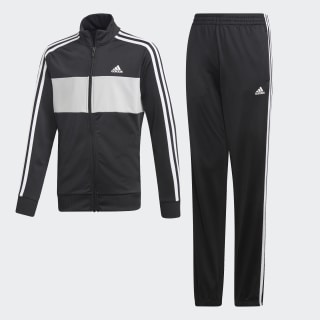 Conjunto de Chaqueta y pantalón  Top:black/GREY TWO F17/white Bottom:BLACK/WHITE DV1739