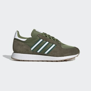 Tenis Forest Grove Tech Olive / Collegiate Green / Raw Khaki EE5764