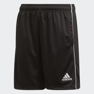 Core 18 Training Shorts Black / White CE9030