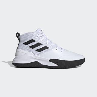 Sapatos Own the Game Cloud White / Core Black / Cloud White EE9631