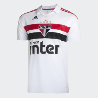 CAMISA SAO PAULO I WHITE/RED/BLACK DZ5626