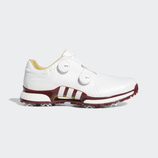 Tour360 XT Twin Boa Shoes Cloud White / Cloud White / Collegiate Burgundy F35402