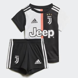 Miniconjunto Baby primera equipación Juventus Black / White DW5465