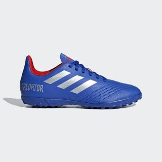 Calzado de Fútbol Predator Tango 19.4 Pasto Sintético bold blue / silver met. / active red CM8556