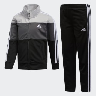 Colorblock Jacket Set Black CL8316