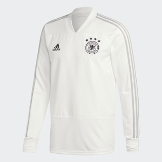 Germany Training Top White / Grey Two / Black CY7204