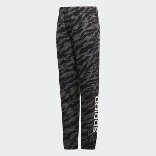 Linear bukser Dark Grey Heather / Black / White DJ1782