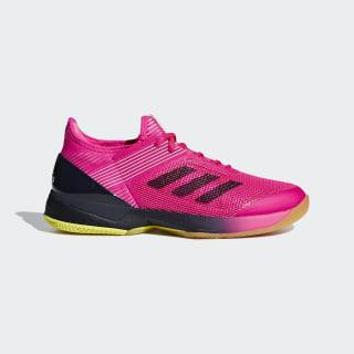 Кроссовки для тенниса adizero Ubersonic 3.0 shock pink / legend ink / ftwr white AH2136