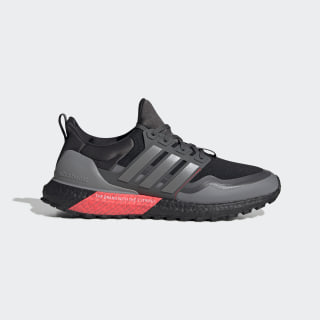 Ultraboost All Terrain Shoes Core Black / Grey Three / Shock Red EG8098