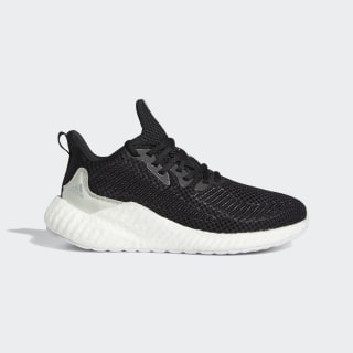Chaussure Alphaboost Parley Core Black / Linen Green / Cloud White EF1163