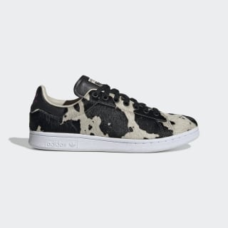Stan Smith Shoes Core Black / Clear Brown / Vivid Pink FV3087