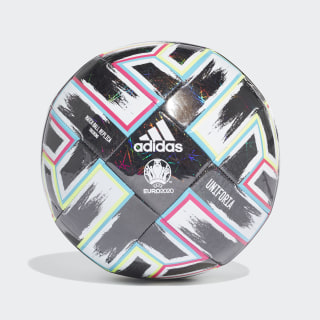 Tréninkový míč Uniforia Black / Signal Green / Bright Cyan / Shock Pink FP9745
