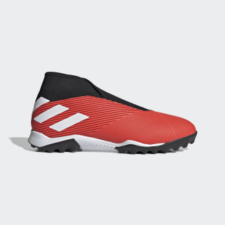 Calzado de Fútbol Nemeziz 19.3 Césped Artificial Active Red / Cloud White / Solar Red G54686
