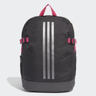 กระเป๋าสะพายหลัง 3-Stripes Power ขนาดกลาง Black / Black / Grey DZ9439