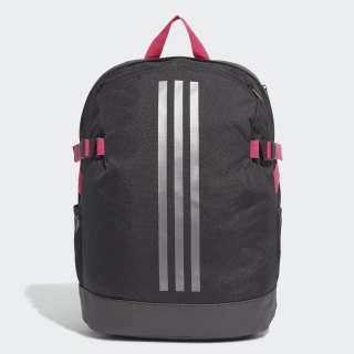 Mochila 3-Stripes Power Medium Black / Black / Grey DZ9439