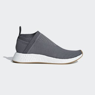NMD_CS2 Primeknit Shoes Grey Four / Grey Five / Gum4 D96742