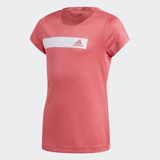 Polera Training Cool Real Pink / White ED6299
