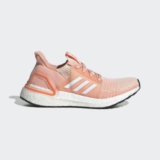 Chaussure Ultraboost 19 Linen / Cloud White / Glow Pink EF0927