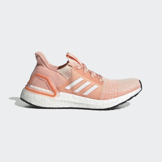 Ultraboost 19 Shoes Linen / Cloud White / Glow Pink EF0927