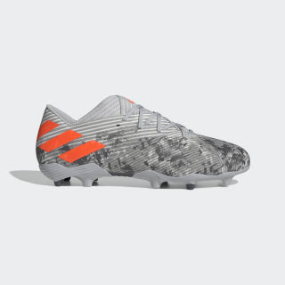 Botas de Futebol Nemeziz 19.2 – Piso firme Grey Two / Solar Orange / Chalk White EF8288