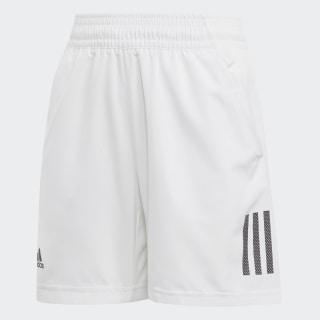 Boys Club 3 Stripes Short White / Black DU2489