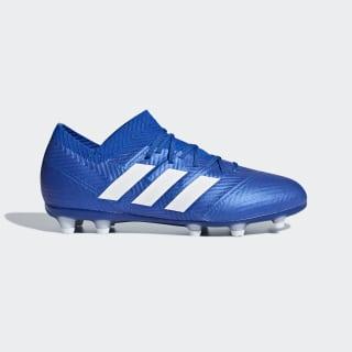 Bota de fútbol Nemeziz 18.1 césped natural seco Football Blue / Ftwr White / Football Blue DB2348