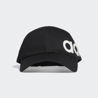 Linear Bold Baseball Hat Black / Black / White ED0318