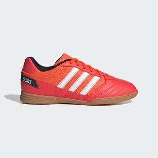 Scarpe da calcio Super Sala Solar Red / Cloud White / Core Black FV2639