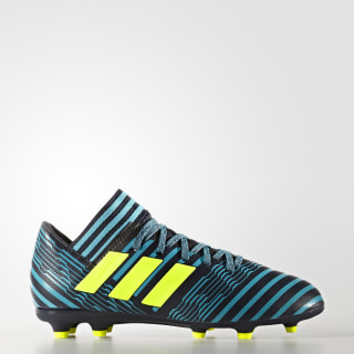 Calzado de Fútbol Nemeziz 17.3 Terreno Firme Legend Ink / Solar Yellow / Energy Blue S82427