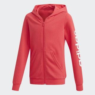 Chaqueta con capucha Linear Core Pink FM6977