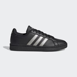 Zapatillas Grand Court Core Black / Platinum Metallic / Core Black EE8133