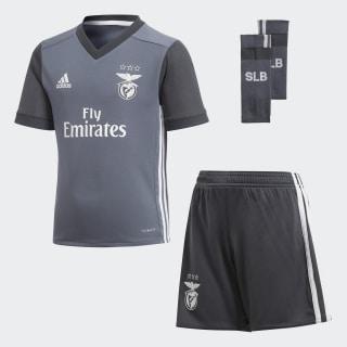 Benfica Away Mini Kit Onyx/Dark Grey B31020