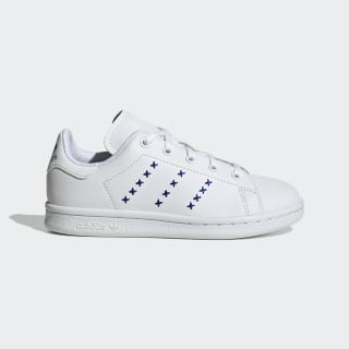 Scarpe Stan Smith Cloud White / Cloud White / Team Royal Blue EG6501