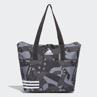Bolsa Tote Estampa 3-Stripes Training black / black / white DU2356