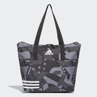 Bolso Training Graphic 3 Tiras black / black / white DU2356