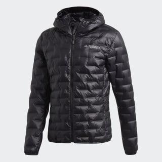 Light Down Hooded Jacket Black CY8772