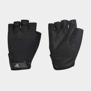 Перчатки Versatile Climalite black / black / iron met. DT7955