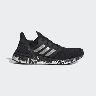 Chaussure Ultraboost 20 Core Black / Cloud White / Signal Coral EG1342