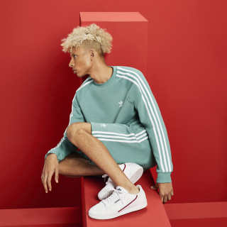 3-Stripes Crewneck sweatshirt Vapour Steel DV1637