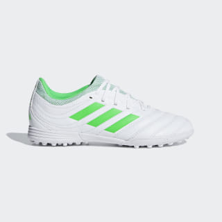 Copa 19.3 Turf Boots Cloud White / Solar Lime / Cloud White D98086
